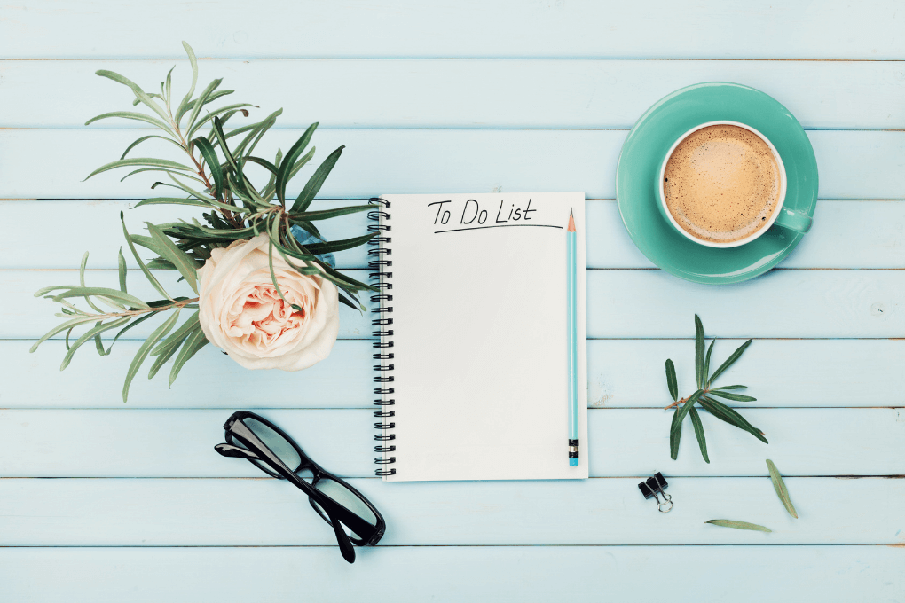 to do list for a productive day